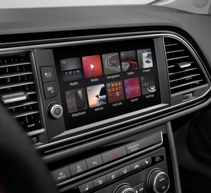 SEAT Leon Estate - Entertainment system