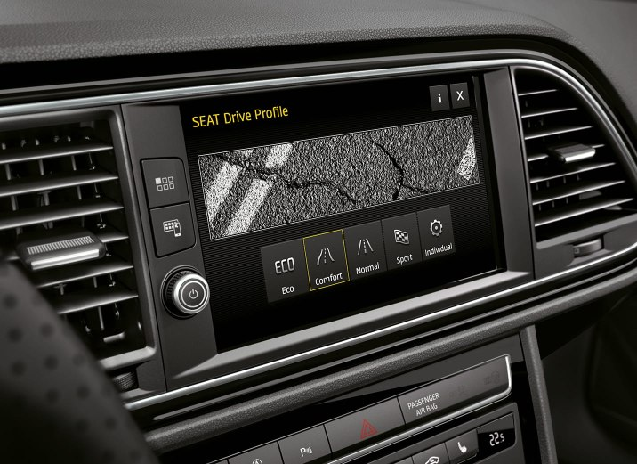 SEAT Leon Estate - SEAT driving profile selector