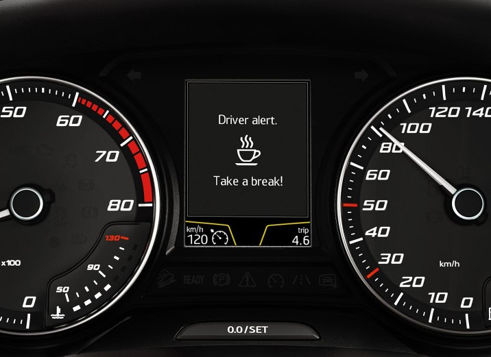 SEAT Leon Estate - Tiredness detection system