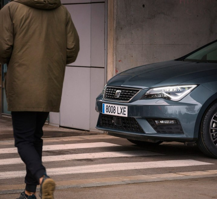SEAT Leon Estate - Pedestrian detection system